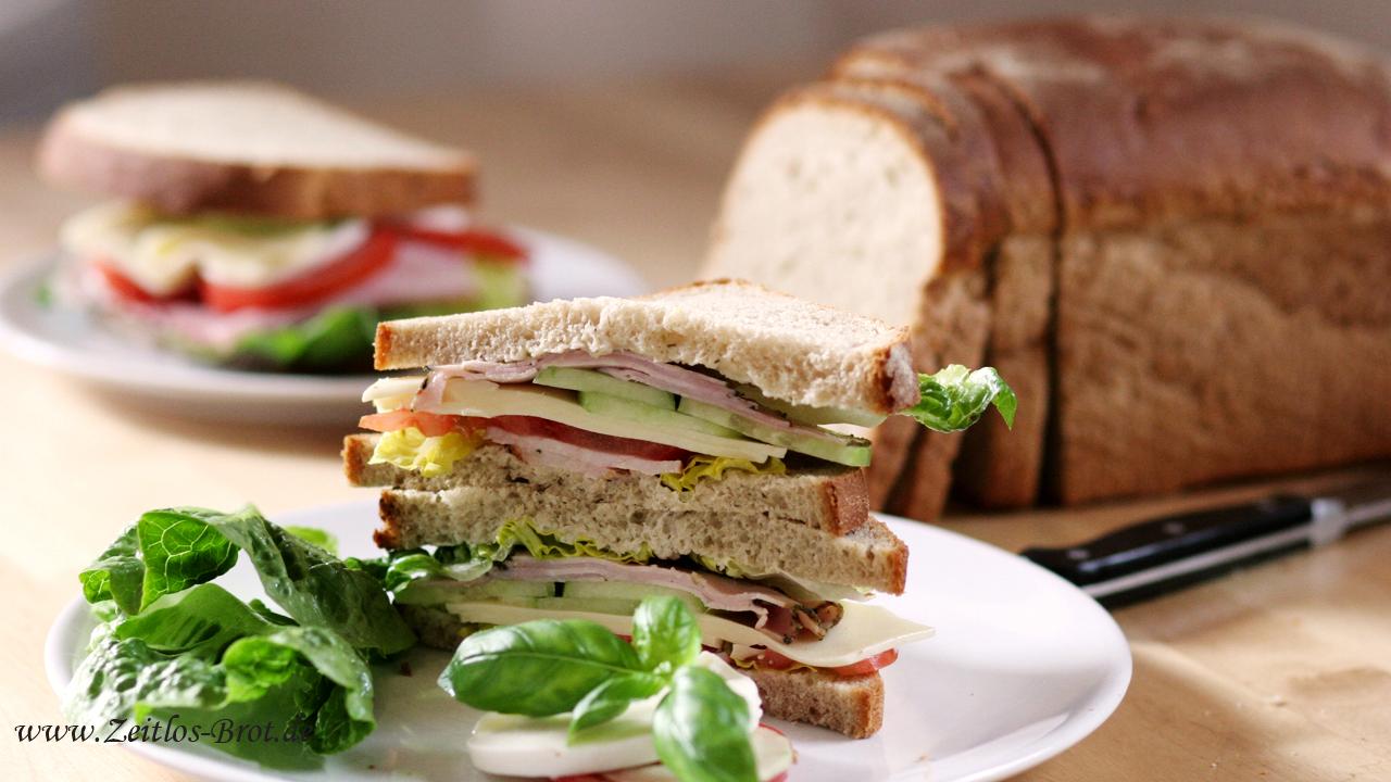 Jumbo Sandwich Toastbrot